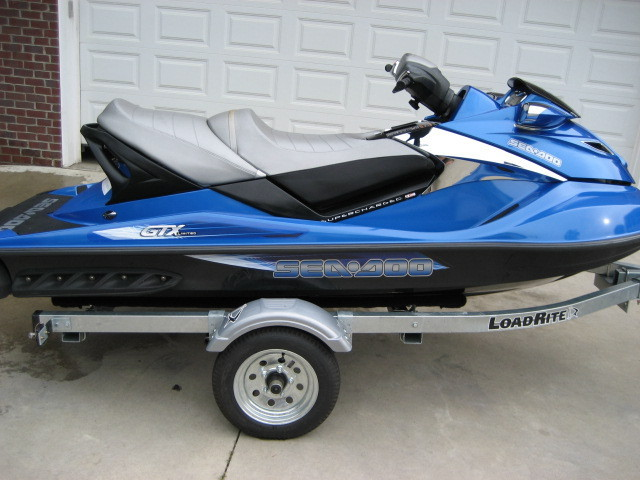 2007 Seadoo Gtx Limited Supercharged 215hp Home